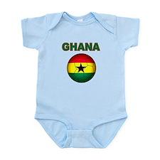 Ghana soccer Body Suit