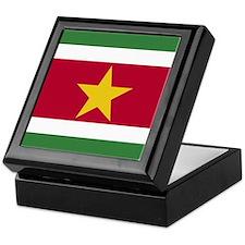 Flag of Suriname Keepsake Box