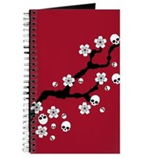 Gothic Cherry Blossoms Journal