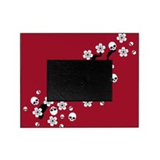 Gothic Cherry Blossoms Picture Frame