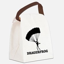 The DRÄGERFROG Canvas Lunch Bag
