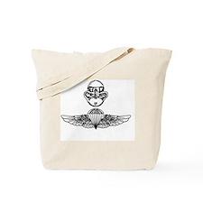 Parachute and combat diver insignia Marin Tote Bag