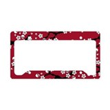 Cherry blossom License Plate Frames