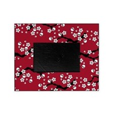 Gothic Cherry Blossoms Pattern Picture Frame