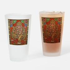 HINDU GOD GANESH VINTAGE Drinking Glass