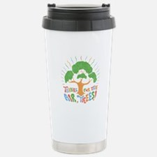 Thanks, Trees! Stainless Steel Travel Mug