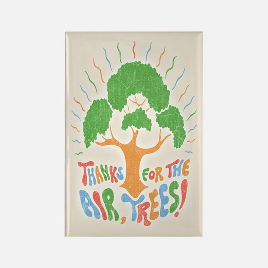 Thanks, Trees! Rectangle Magnet (100 pack)