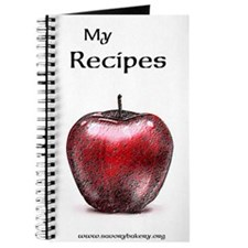 Sherry Apple Recipe Book Journal