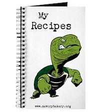 Tough Turtle Recipe Book Journal
