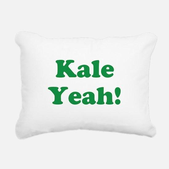 Kale Yeah! Rectangular Canvas Pillow