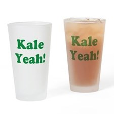 Kale Yeah! Drinking Glass