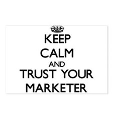 Keep Calm and Trust Your Marketer Postcards (Packa