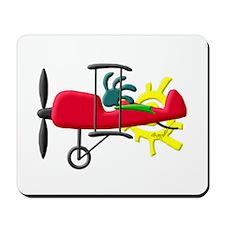 Stunt Pilot Mousepad