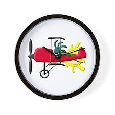 Stunt Pilot Wall Clock