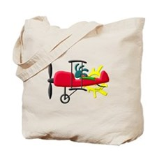 Stunt Pilot Tote Bag