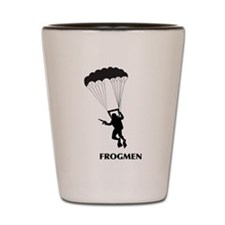 Frogmen Shot Glass