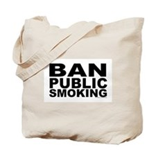 Tote Bag (double-sided) Ban Public Smoking