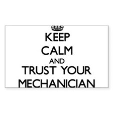 Keep Calm and Trust Your Mechanician Decal
