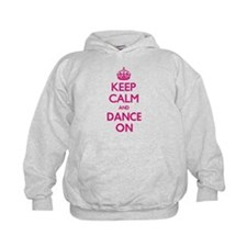 Keep Calm and Dance Hoodie