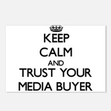 Keep Calm and Trust Your Media Buyer Postcards (Pa