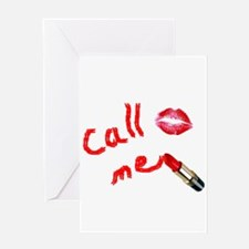 Call Me Greeting Cards