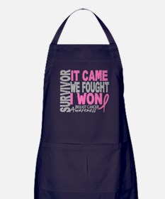 Breast Cancer Survivor 2 Apron (dark)