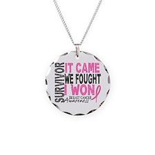 Breast Cancer Survivor 2 Necklace