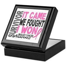 Breast Cancer Survivor 2 Keepsake Box