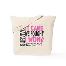 Breast Cancer Survivor 2 Tote Bag