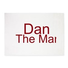 Dan The Man 5'x7'Area Rug