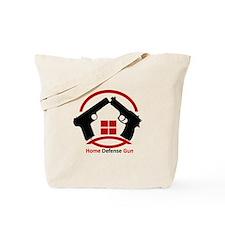 Home Defense Gun Tote Bag