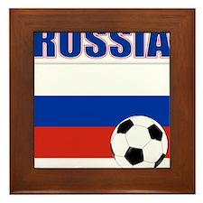 Russia soccer Framed Tile