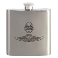Duel Qualified Special Operations USMC Flask