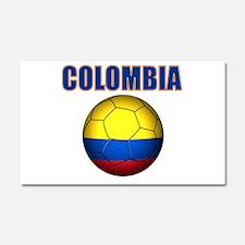 Colombia futbol soccer Car Magnet 20 x 12