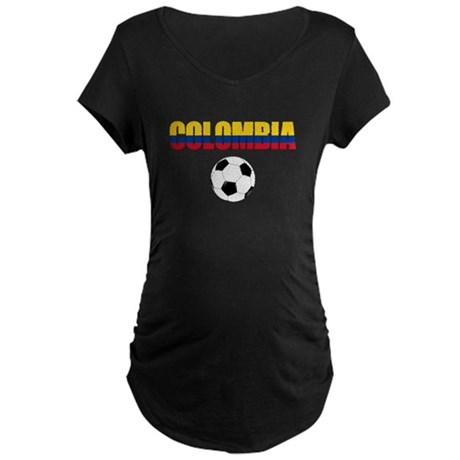 Colombia futbol soccer Maternity T-Shirt