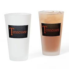Tennessee Diamond Plate Drinking Glass