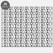 Linked Chain pattern design Puzzle