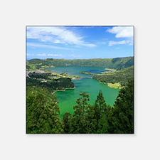 Sete Cidades lakes Sticker