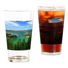 Sete Cidades lakes Drinking Glass