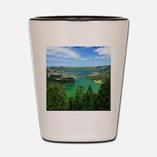 Sete Cidades lakes Shot Glass