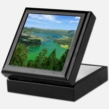 Sete Cidades lakes Keepsake Box