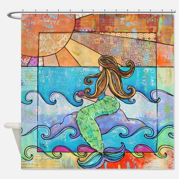 mermaid bathroom accessories & decor - cafepress
