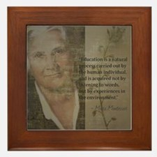 Funny Quote it Framed Tile