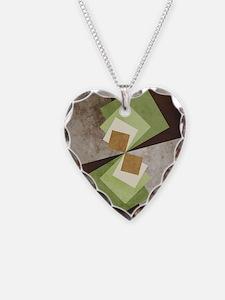 Curvature of A Square Necklace