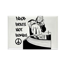 Drop beats not bombs Magnets