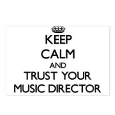 Keep Calm and Trust Your Music Director Postcards