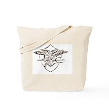 Navy SEAL Insignia Artistic Version Tote Bag