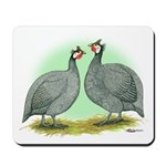 French Guineafowl Mousepad