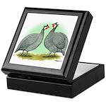 French Guineafowl Keepsake Box