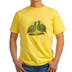 French Guineafowl Yellow T-Shirt